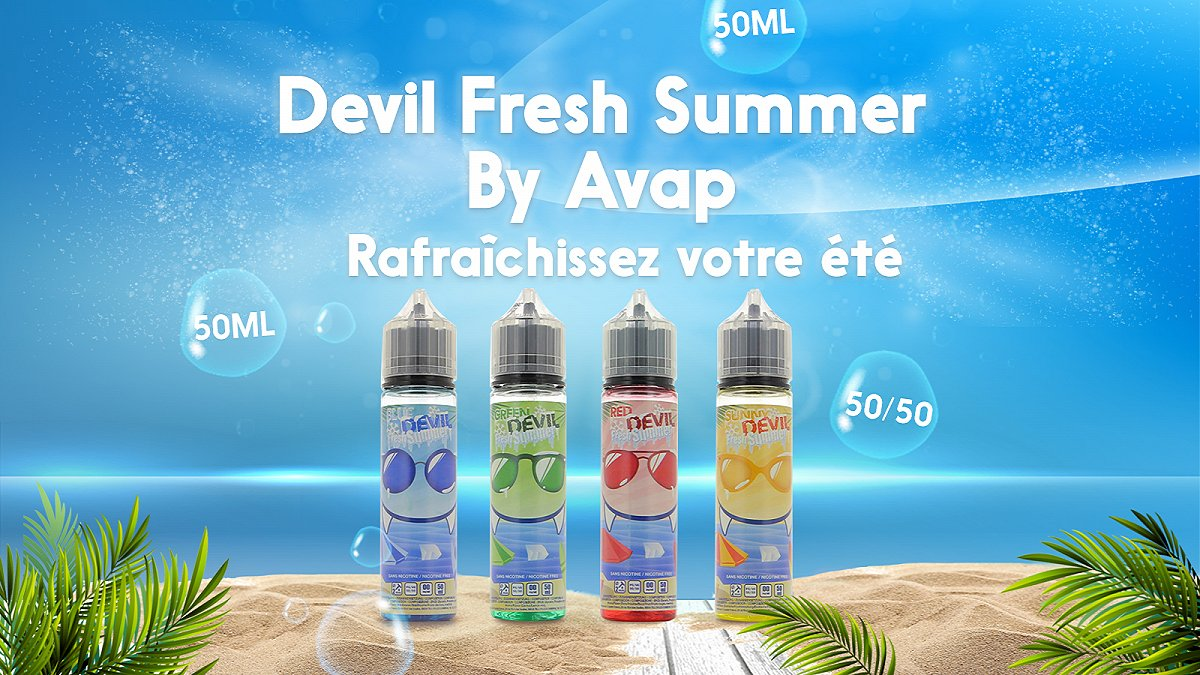 Devil Fresh Summer by Avap : E-liquides pour l'été