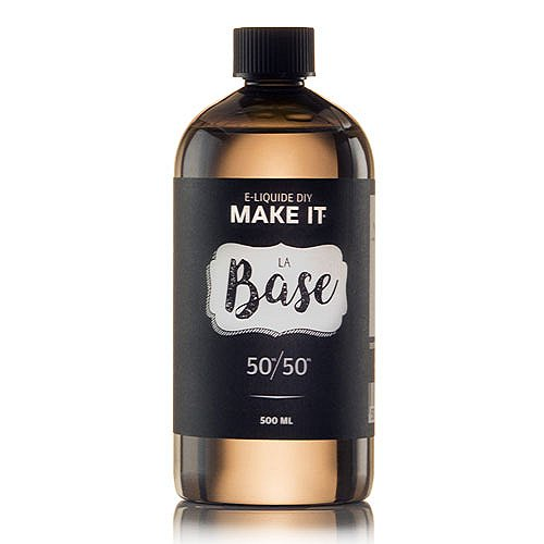 Base 500ml 50/50 00mg Make It By Savourea