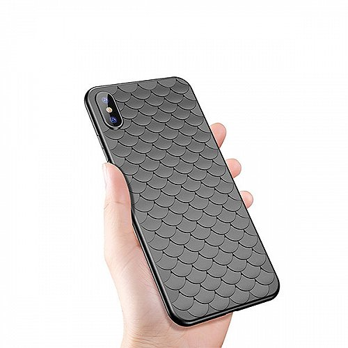 Coque Silicone Ecailles iPhone 8