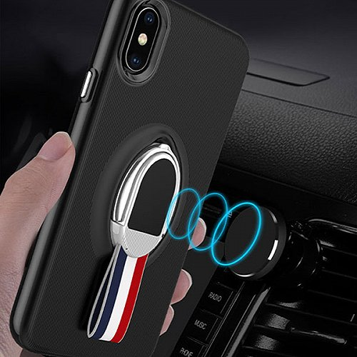 Coque Support Aimant iPhone X