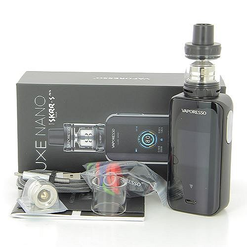 Kit Luxe Nano 80W Touch Screen 2500mah (+ ato Skrr-s Mini 3,5ml) Vaporesso