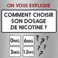 Comment choisir son dosage de nicotine
