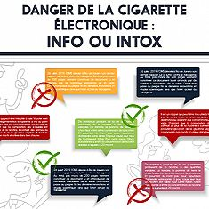 Danger de la cigarette électronique : info ou intox ?