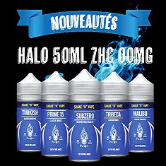 Gamme Halo 50ml ZHC 00mg